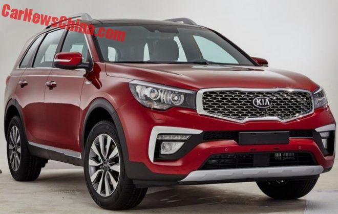Kia KX7 SUV Is Getting Ready For The Chinese Auto Market