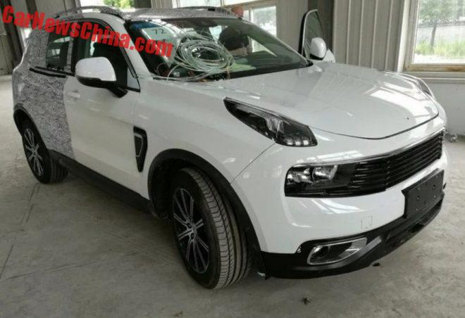 Lynk & Co 01 SUV Is Getting Naked In China