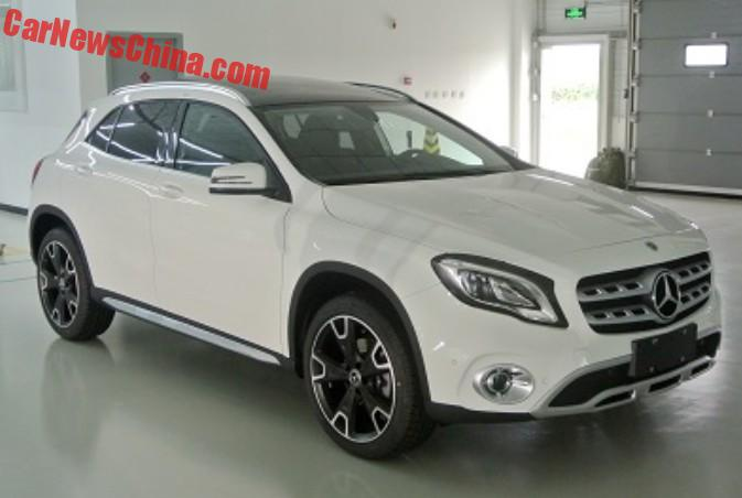 facelift for the mercedes benz gla in china carnewschina com rh carnewschina com