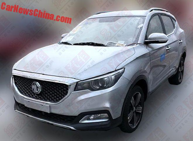 MG ZS SUV Is Getting Ready For The Chinese Auto Market