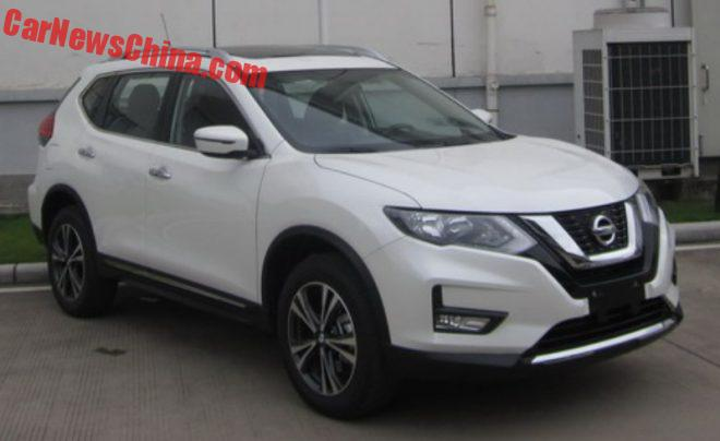 Facelift For The Nissan X-Trail In China