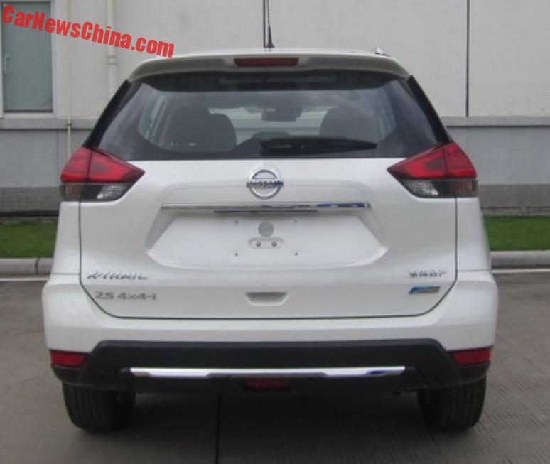 Facelift For The Nissan X-Trail In China - CarNewsChina.com