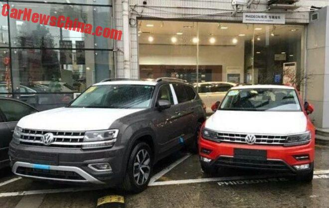 Volkswagen Teramont SUV To Hit The Chinese Car Market In March