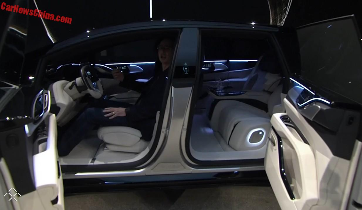 faraday future unveils the ff91 electric super suv at the ces in las vegas. Black Bedroom Furniture Sets. Home Design Ideas