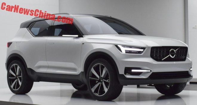 Volvo XC40 Compact SUV To Debut On The Shanghai Auto Show In April