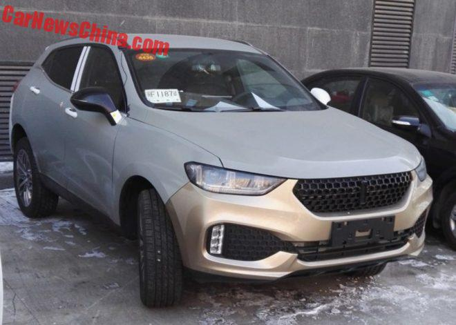 Spy Shots: Great Wall WEY 01 SUV Is Naked In China