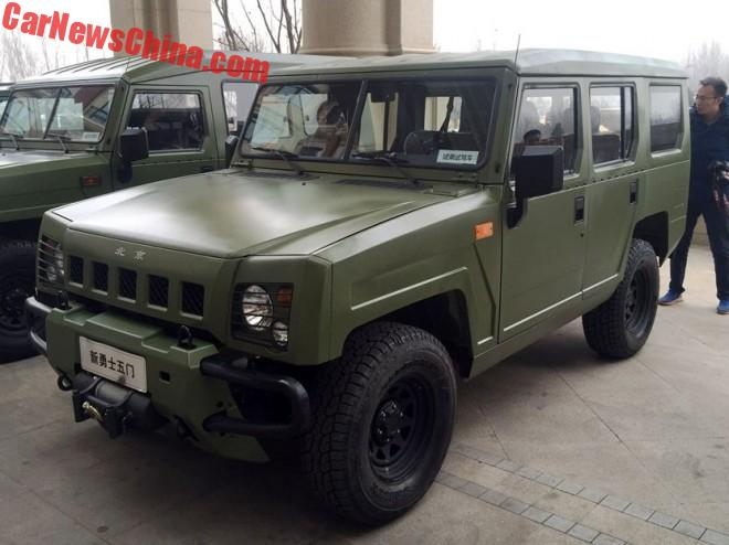 The Beijing Auto BJ2022 Brave Warrior Goes Mitsubishi-Cheap And Saab-Expensive