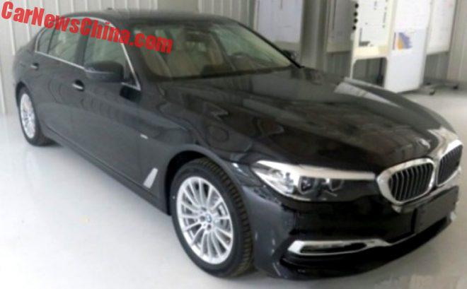 This Is The New BMW 5-Series L Sedan For China