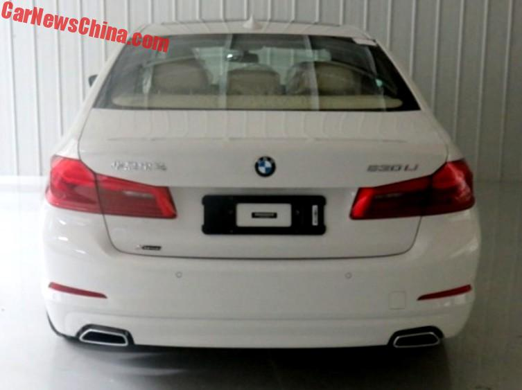 this is the new bmw 5 series l sedan for china carnewschina com rh carnewschina com