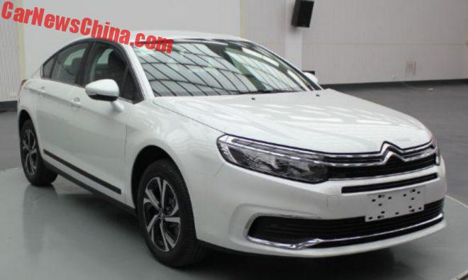 Facelift For The Citroen C5 In China