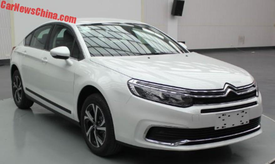 facelift for the citroen c5 in china. Black Bedroom Furniture Sets. Home Design Ideas