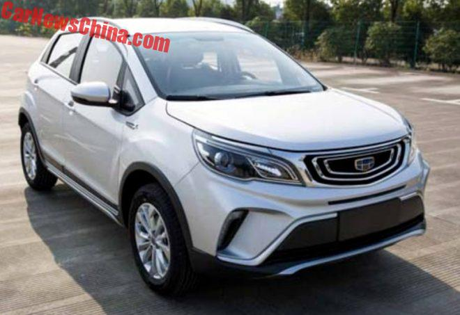 The Geely V3 Is Another New Crossover Hatchback For China