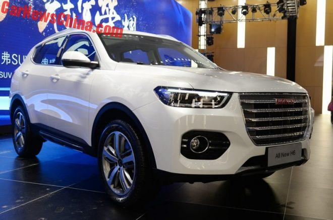 This Is The New Haval H6 SUV For China