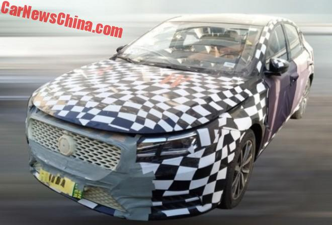 Spy Shots: New MG6 Testing In China