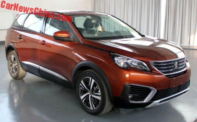 The Peugeot 5008 Is A Seven Seat SUV For The Chinese Car Market