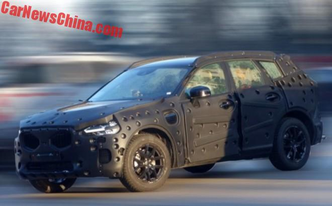 Spy Shots: New Volvo XC60 Testing In China; Interior Revealed