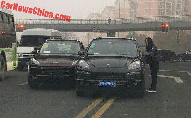 Crash Of The Year: Zotye SR9 Hits Porsche