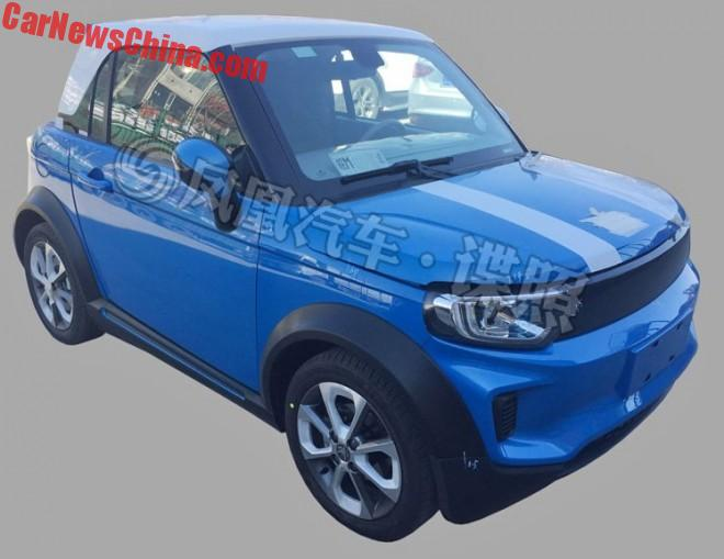 New Spy Shots Of The Beijing Auto ArcFox-1 Mini EV For China