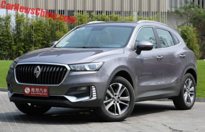 The Borgward BX5 SUV Is Ready For The Chinese Auto Market