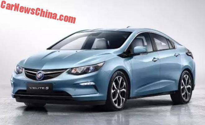 Leaked: The Buick Velite 5 Is China's Chevrolet Volt