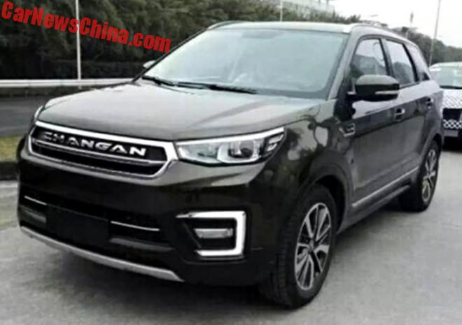 Spy Shots: The Changan CS55 SUV Is Ready For China