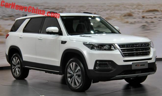 Changan CS95 SUV Launched On The Chinese Auto Market