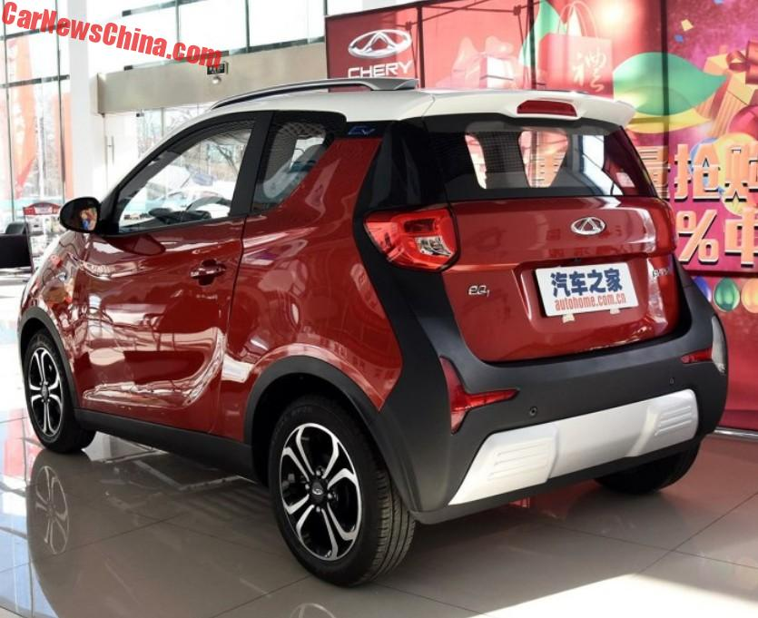 The Chery Eq1 Ev Is What Mercedes Benz Is Up Against In
