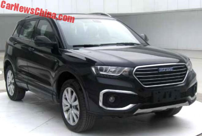Does It Ever Stop? Here Is The Great Wall Haval H6 Coupe Blue Label