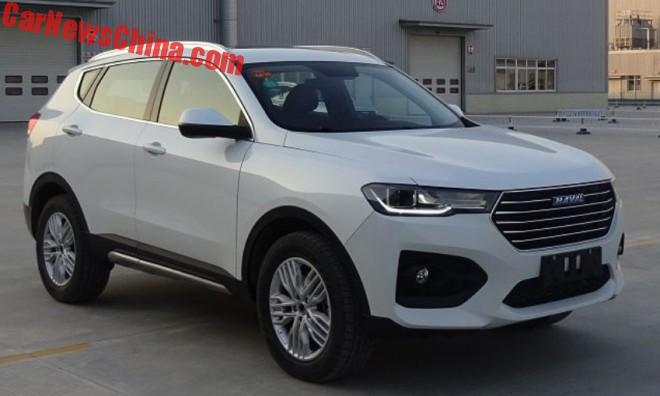 The New Haval H6 Is Almost Exactly The Same Car As The WEY 02