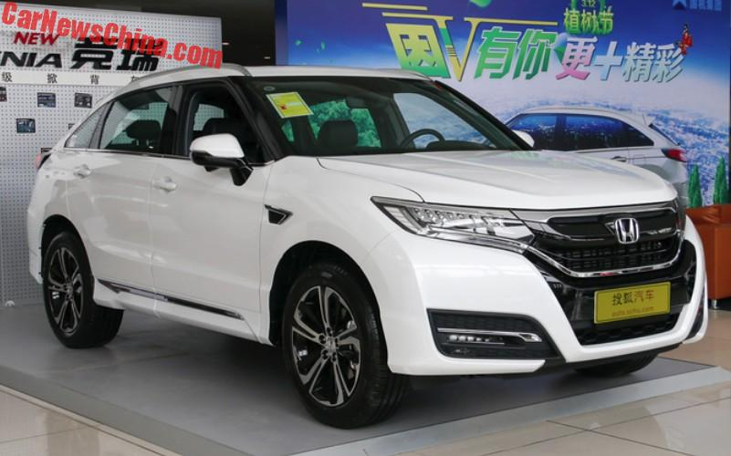Dongfeng-Honda Archives - CarNewsChina.com