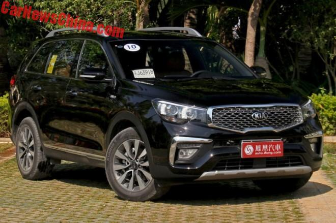 Kia KX7 SUV Is Ready For The Chinese Auto Market