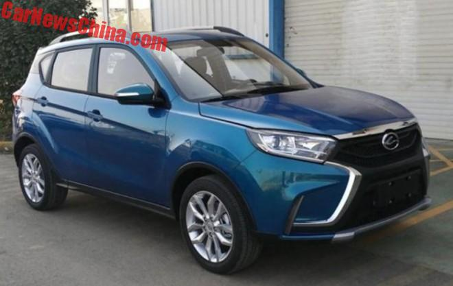 This Is The New Landwind X2 SUV For China