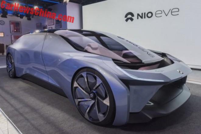 NIO Launches The Eve Autonomous Electric Concept Car
