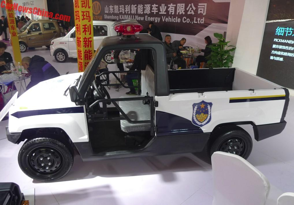 The Kaiyun Pickman Is Basically The Coolest Pickup Truck