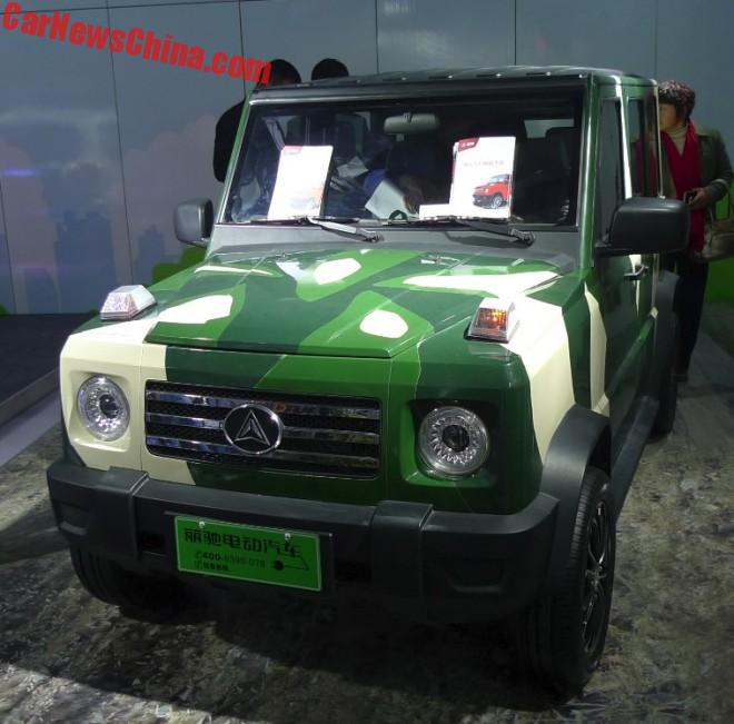 You See, Mercedes-Benz? This Is How To Do An Environmentally Friendly G-Class
