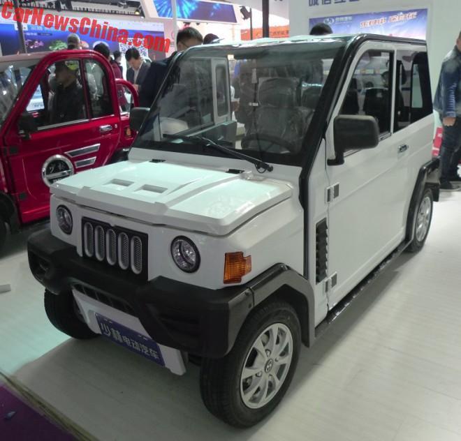 The Shaolin Auto LeTu K2 Is A Jeep-Like LSEV Hatchback