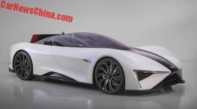 China's TechRules Debuts 1287 HP TREV Supercar In Geneva