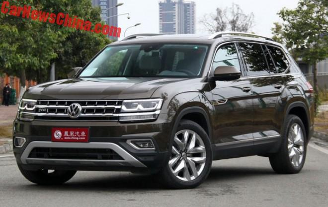 The Volkswagen Teramont SUV Will Hit The Chinese Car Market On March 22