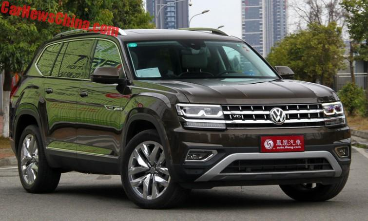 Car Show Finder App >> Volkswagen Teramont Launched On The Chinese Car Market - CarNewsChina.com