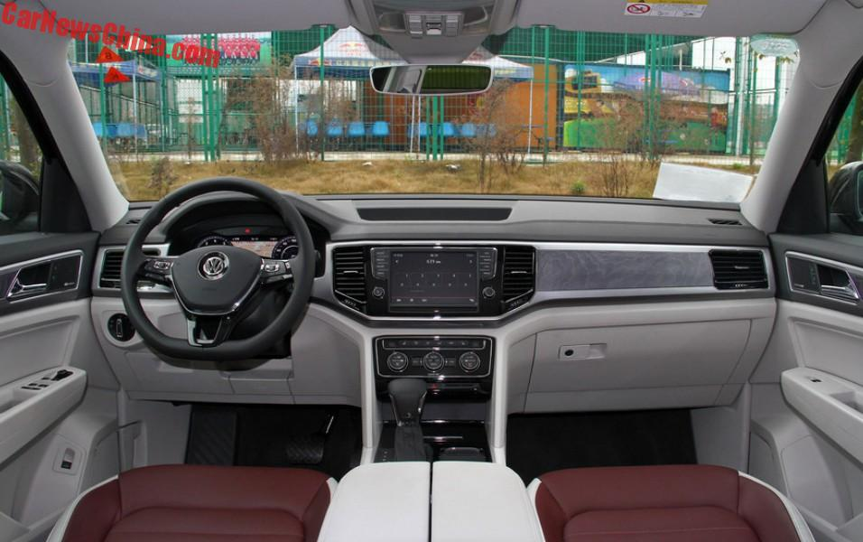 Volkswagen Teramont Launched On The Chinese Car Market