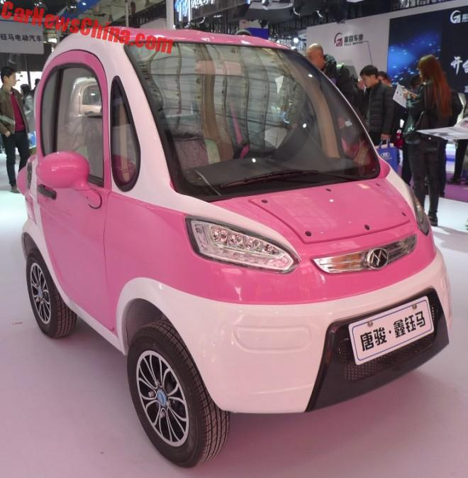 The New Xinyuma Fengguang 2-Door Mini LSEV Is Pretty In Pink