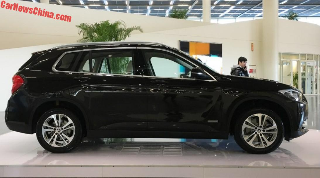 Brilliance Bmw Zinoro 60h Launched On The Chinese Car Market