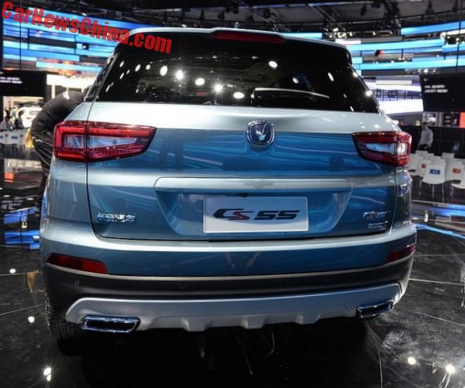 Changan CS55 SUV