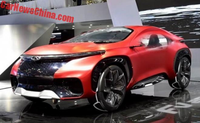 Design Development: Chery FV2030 concept | Article | Car