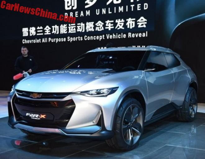 Chevrolet FNR-X Concept Unveiled On The Shanghai Auto Show In China