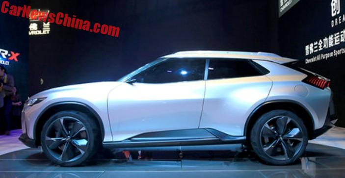 Chevrolet Fnr X Concept Unveiled On The Shanghai Auto Show In China