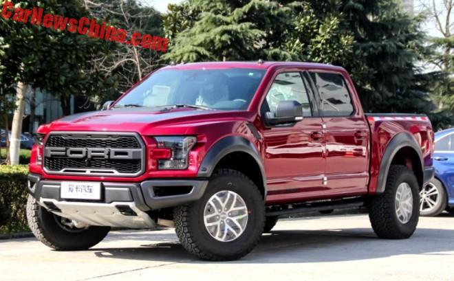 Ford F-150 Raptor Launched On The Chinese Car Market