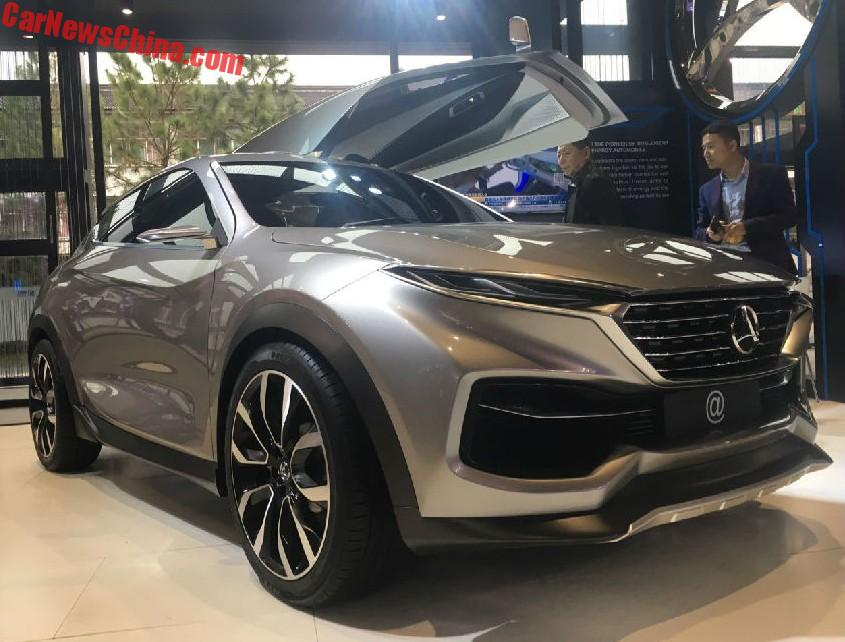 Another New Chinese Car Brand Has Been Born Hozon Auto And They Are Going To Build Electric Cars Name Is Hezhong Qiche The Owned By