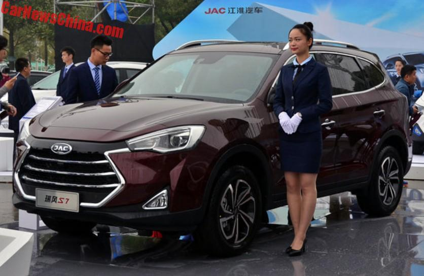 The Jac Refine S7 Suv Is Ready For Chinese Auto Market