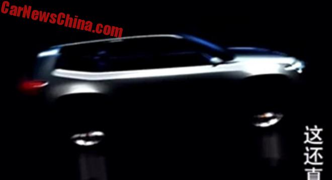 Jeep Teases New Concept Car For The Shanghai Auto Show In China